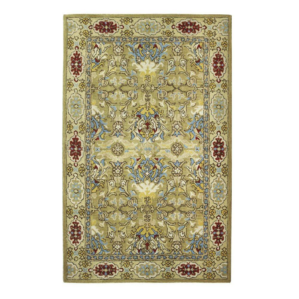 Home Decorators Collection Majestic Gold 6 ft. x 9 ft. Area Rug
