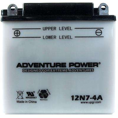 Conventional Wet Pack 12-Volt 7 Ah Capacity F Terminal Battery