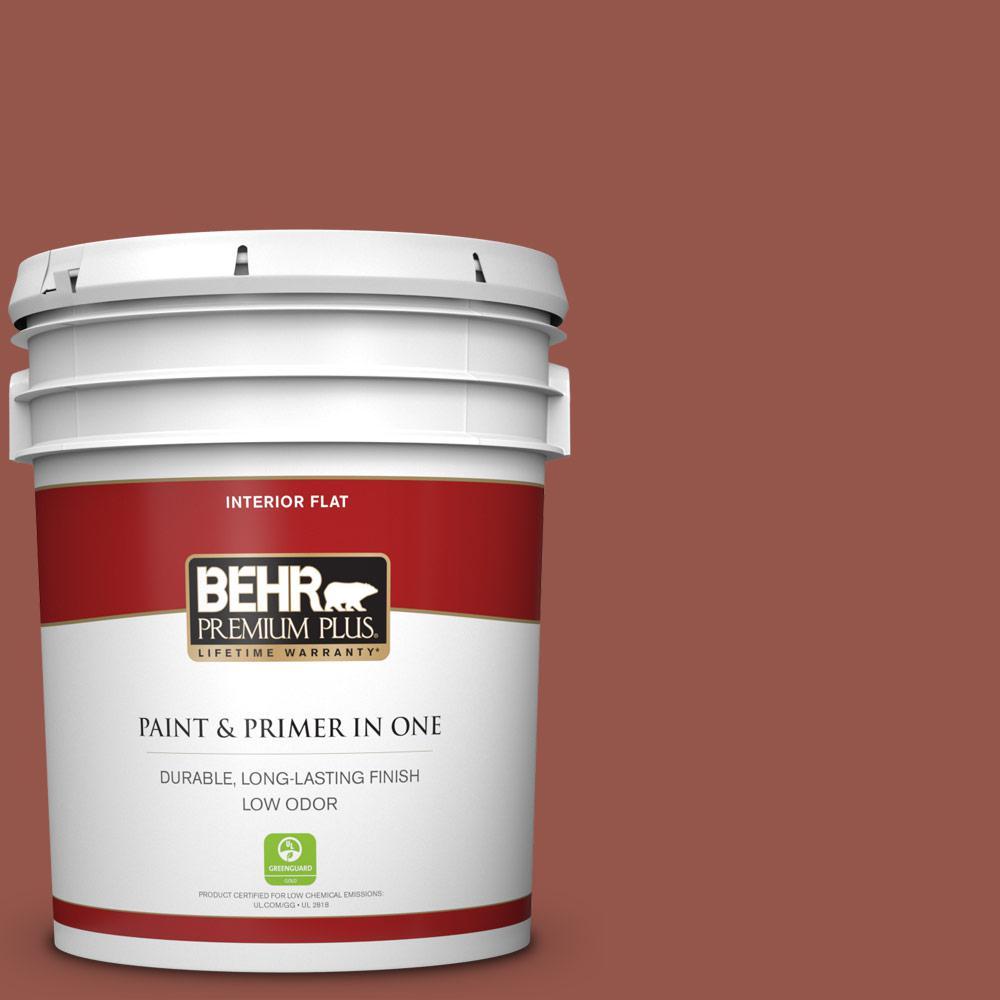 Behr Premium Plus 5 Gal Bic 47 Caliente Flat Low Odor