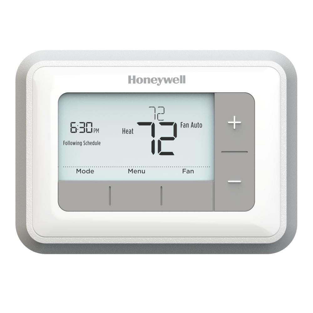 whites honeywell programmable thermostats rth7560e 64_1000 honeywell thermostats heating, venting & cooling the home depot honeywell lyric t5 thermostat wiring diagram at n-0.co