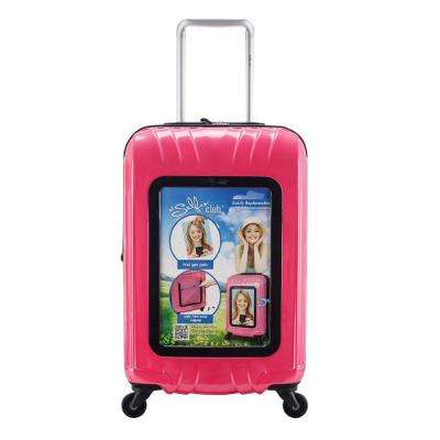 Selfie 20 in. Customizable Hardside Rolling Carry-on