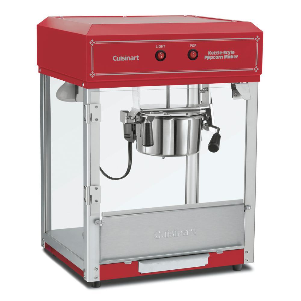 Cuisinart Popcorn Maker, Red/Orange