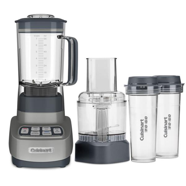 Velocity Ultra Trio 3-Cup 3-Speed Gunmetal Gray Food Processor