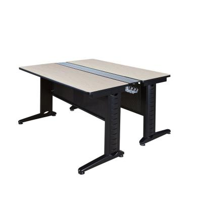 Pendulum Maple 48 in. x 58 in. Benching Station