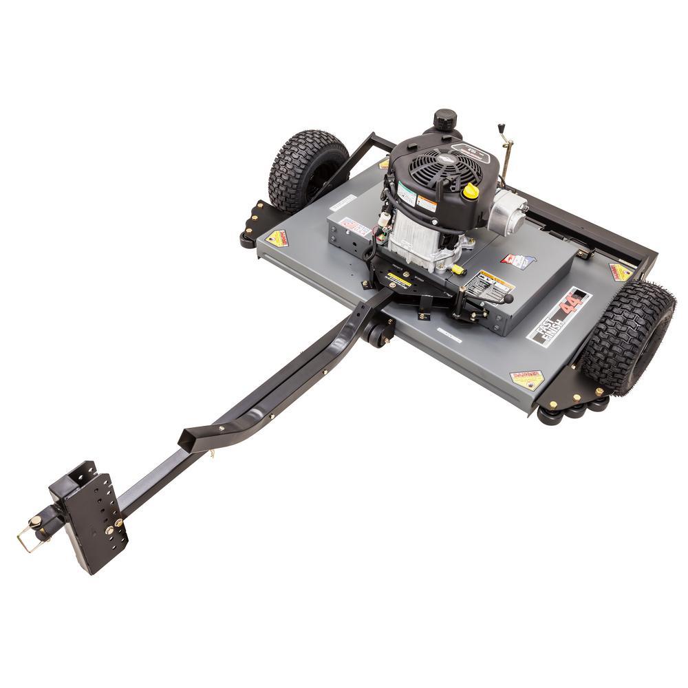 44 in. 10.5 HP Briggs & Stratton Finish Cut Trail Mower - California Compliant