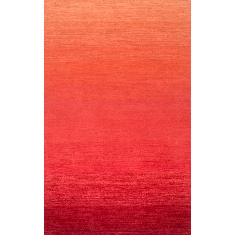 Nuloom Ombre Nelia Red 5 Ft X 8 Area Rug
