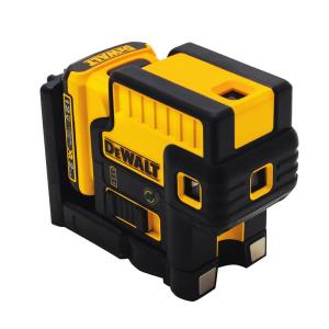 Dewalt 12-Volt MAX Lithium-Ion 5-Spot Green Laser Level with Battery 2Ah, Charger and TSTAK Case by DEWALT