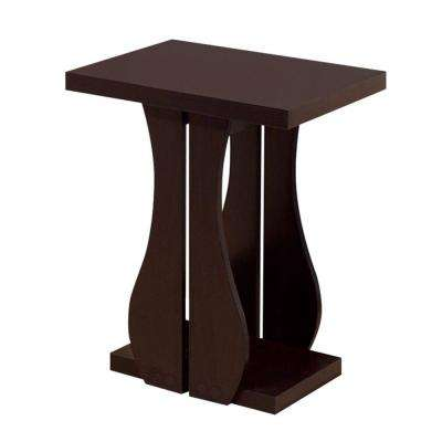 Brown Sophisticated Chair Side Table