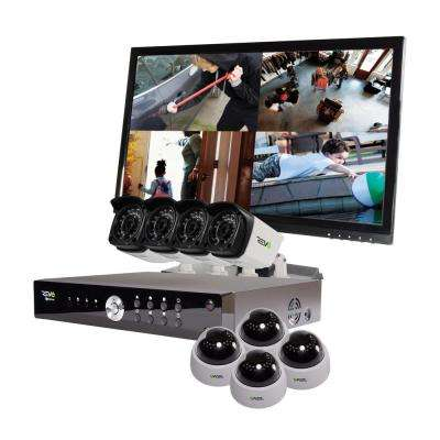 Aero 16-Channel HD 2TB Surveillance DVR with 8 1080p Indoor/Outdoor Cameras