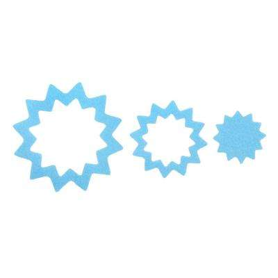 Adhesive Starburst Treads in Blue (21-Count)