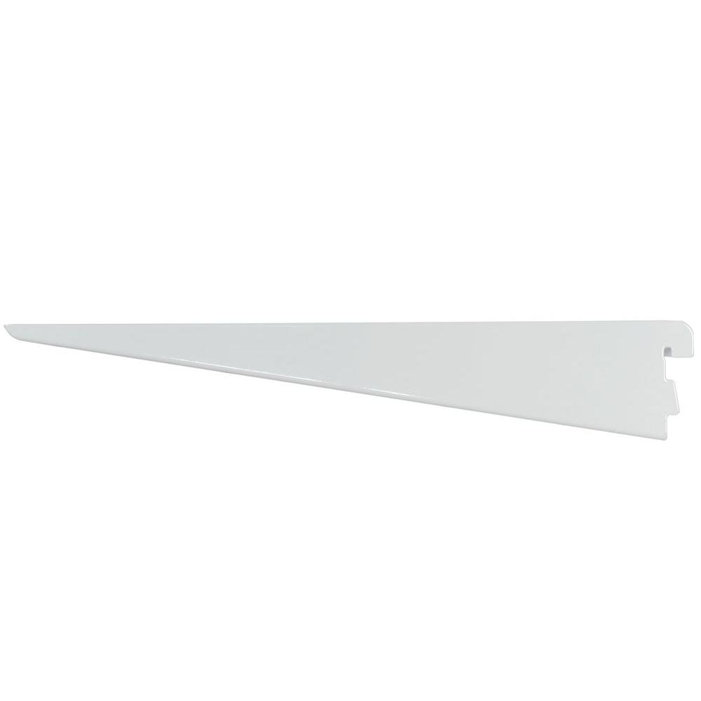 Rubbermaid 14-1/2 in. D White Twin Track Bracket