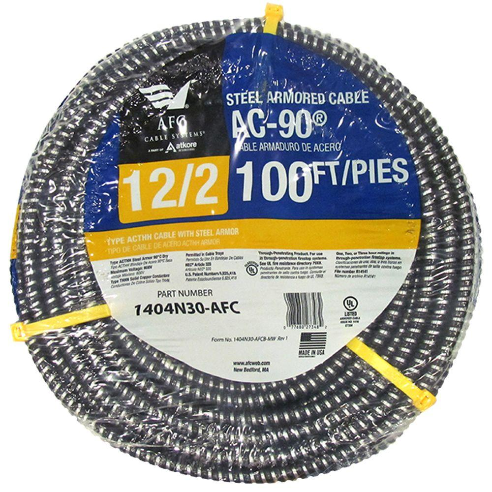 Flexible Armored Cable : Afc cable systems ft bx ac armored
