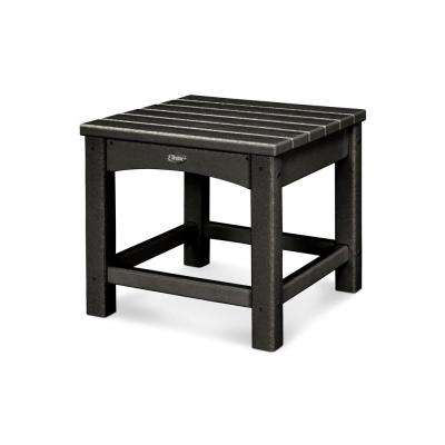 Rockport Charcoal Black Patio Side Table