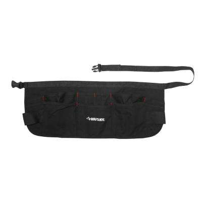 24 in. Canvas Waist Apron Black