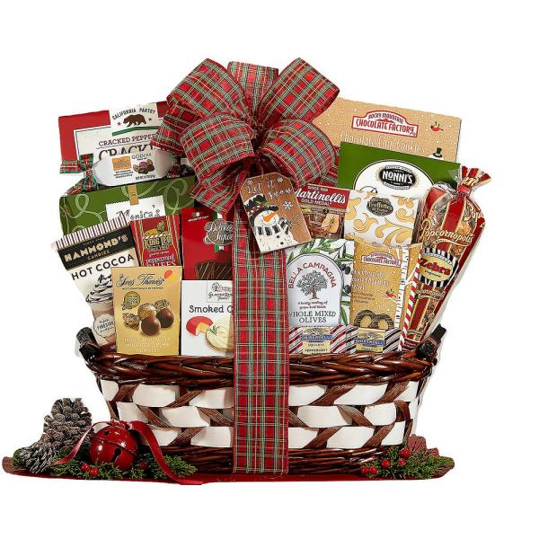 Wine Country Gift Baskets Season's Greetings Holiday Gift Basket
