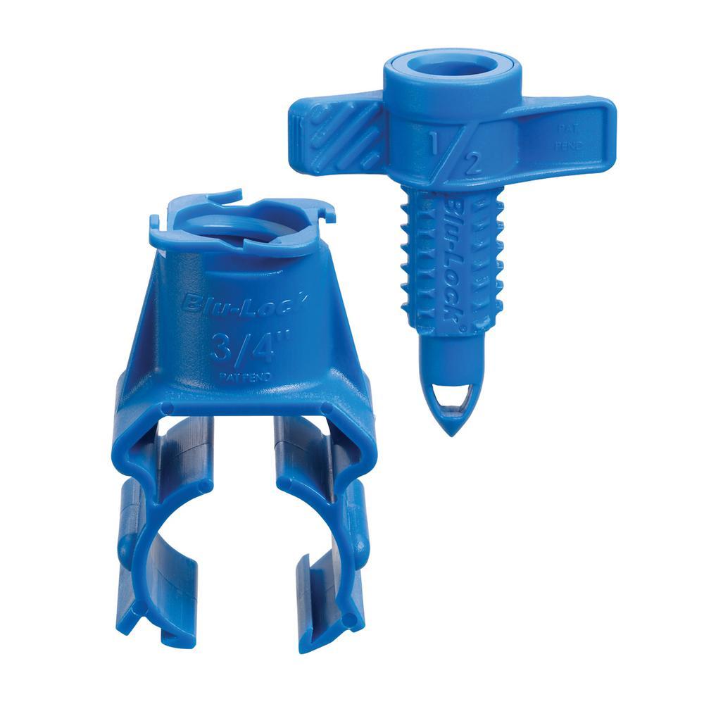 Blu-Lock 3/4 in. Saddle 1/2 in. FPT Tap