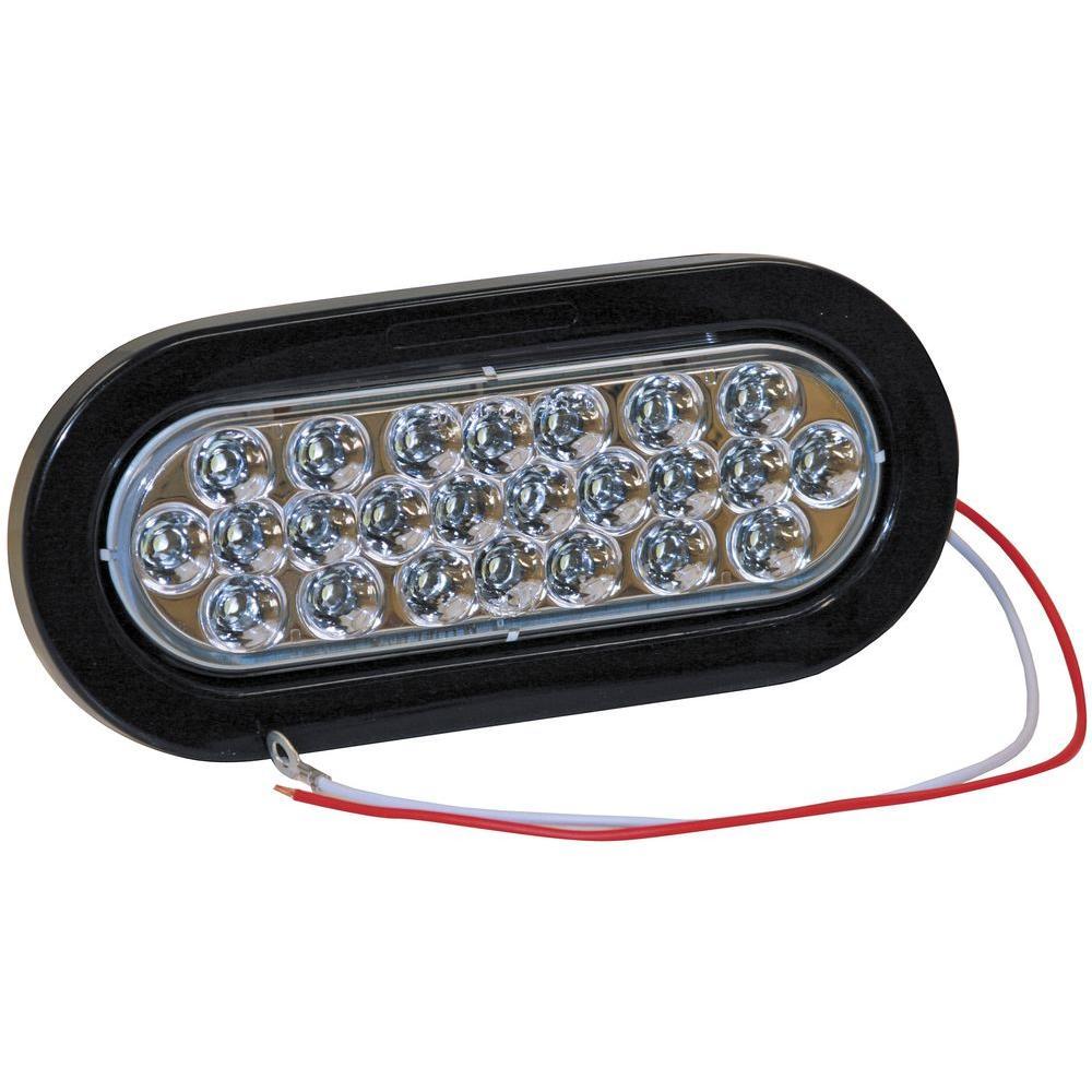 6 Inch Oval Backup Light Kit