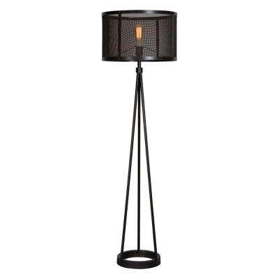 Livingstone 60 in. Black Floor Lamp