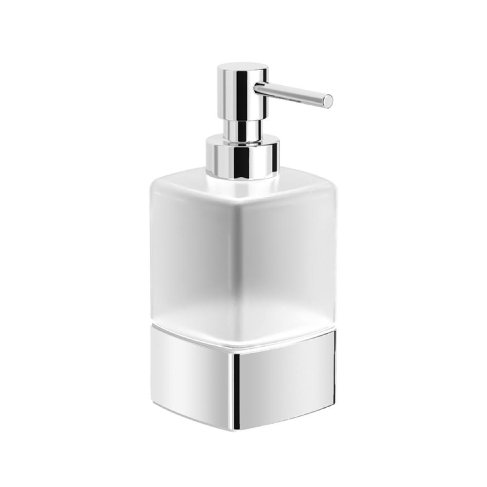 Nameeks Boutique Hotel Free Standing Soap Dispenser In Chrome Finish