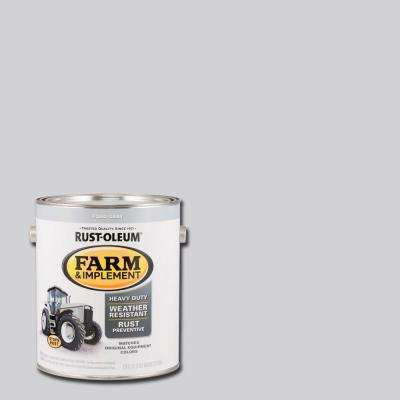 1 gal. Farm and Implement Ford Gray Paint (Case of 2)