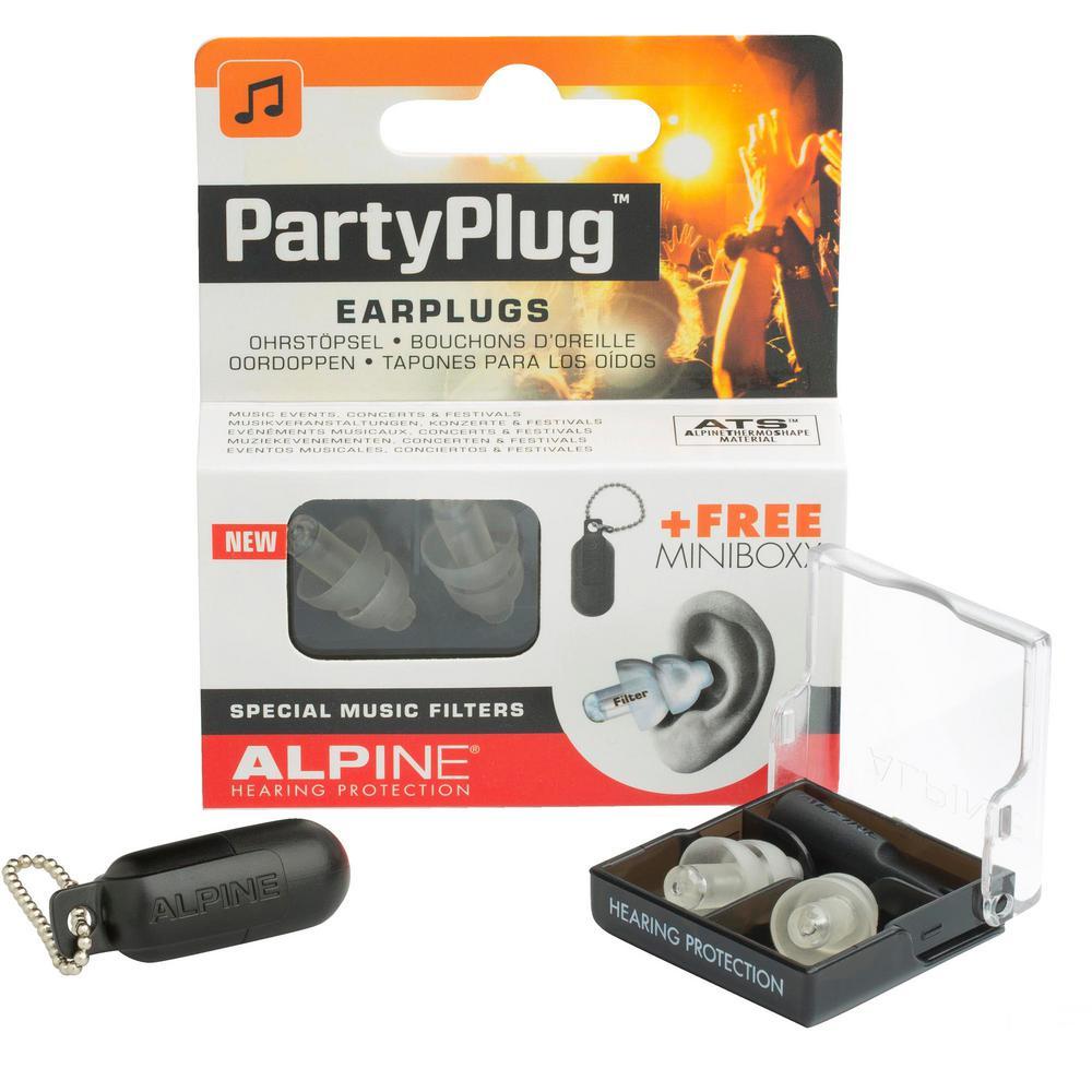 PartyPlug ThermoShape Earplugs