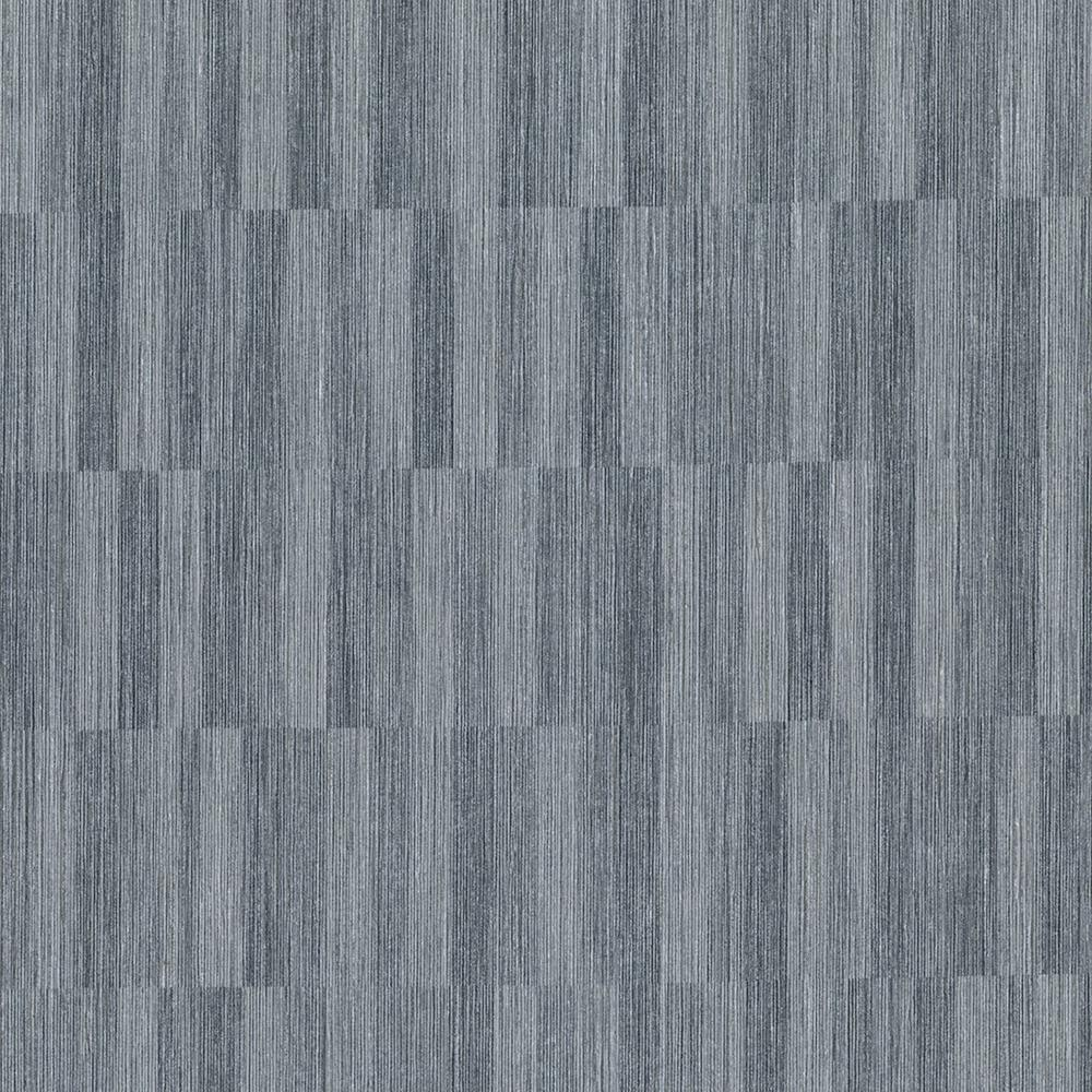 Barie Charcoal Vertical Tile Wallpaper Sample