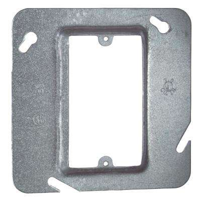 4-11/16 in. Square Single-Gang Device Cover with 1/2 in. Raised (Case of 25)