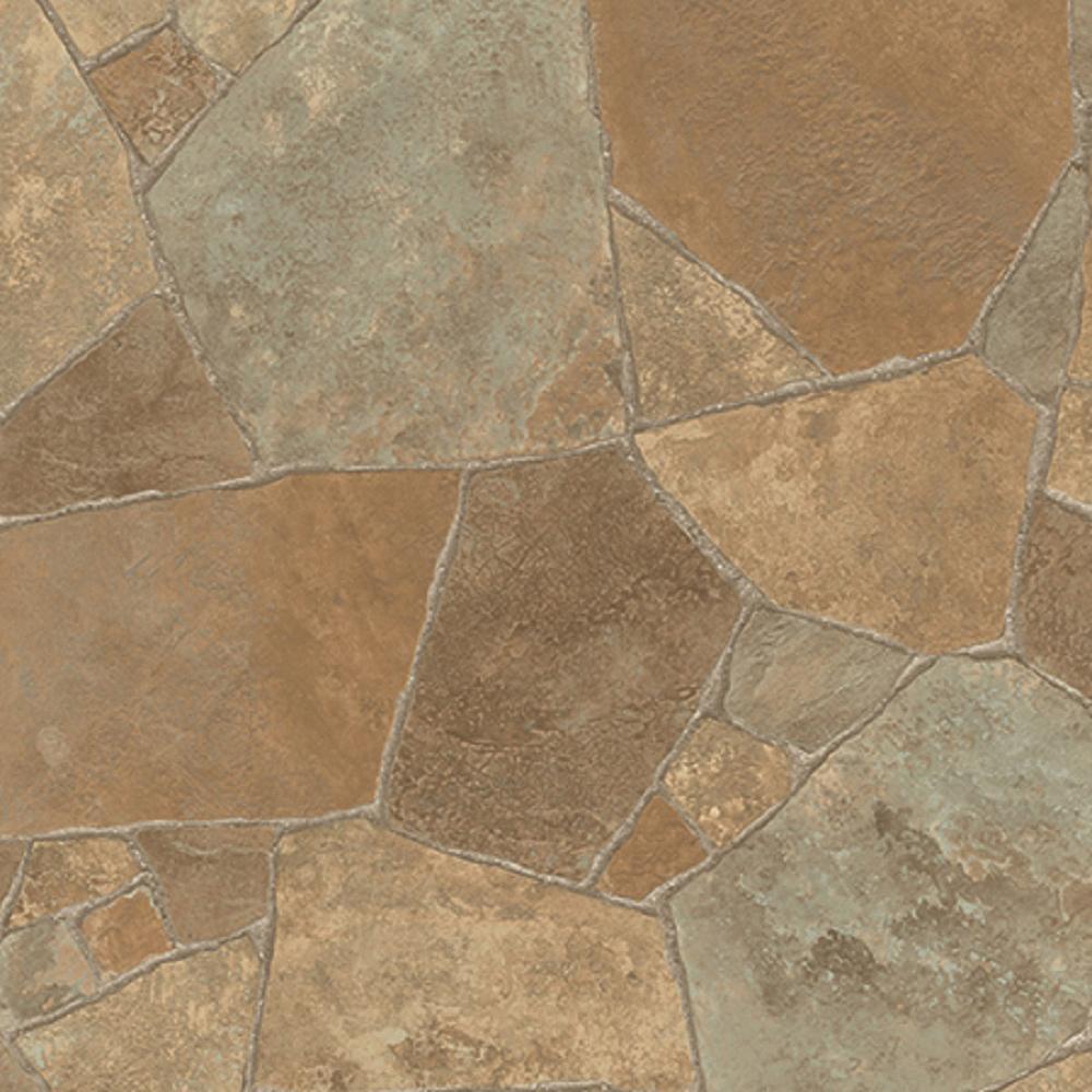 Princeton Stone Residential Vinyl Sheet Flooring 13.2ft. Wide x Cut to Length