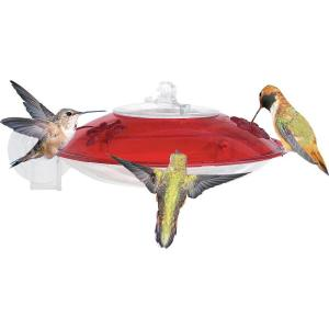 Droll Yankees 6.5 inch Window Hummer Window Mounted Hummingbird Feeder by Droll Yankees