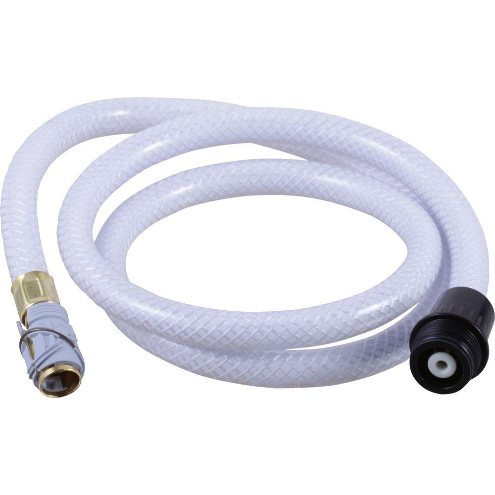 Delta Quick Connect Vegetable Spray Hose Assembly In Black