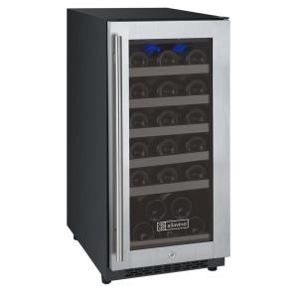 FlexCount II Single Zone 30-Bottle Built-in Wine Refrigerator