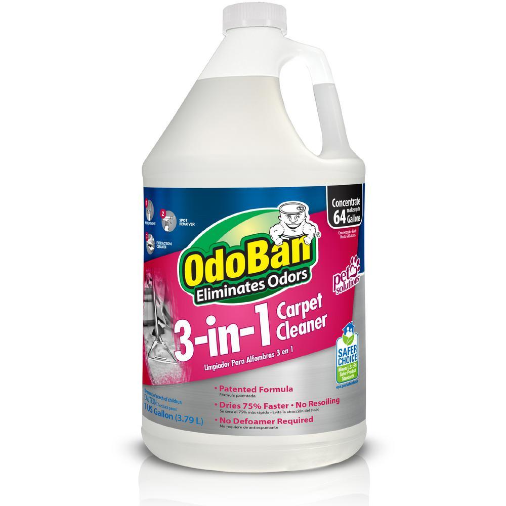Odoban 128 Oz 3 In 1 Carpet Cleaner 960261 G The Home Depot