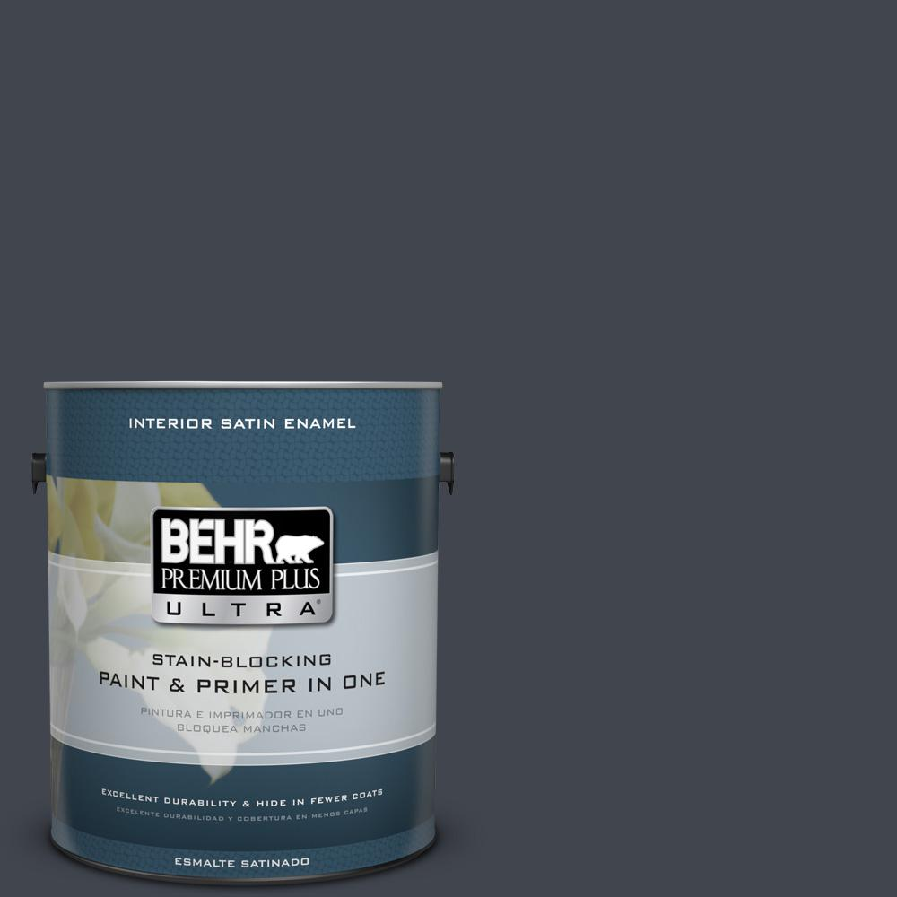 1 gal. #PPU25-23 Winter Way Satin Enamel Interior Paint
