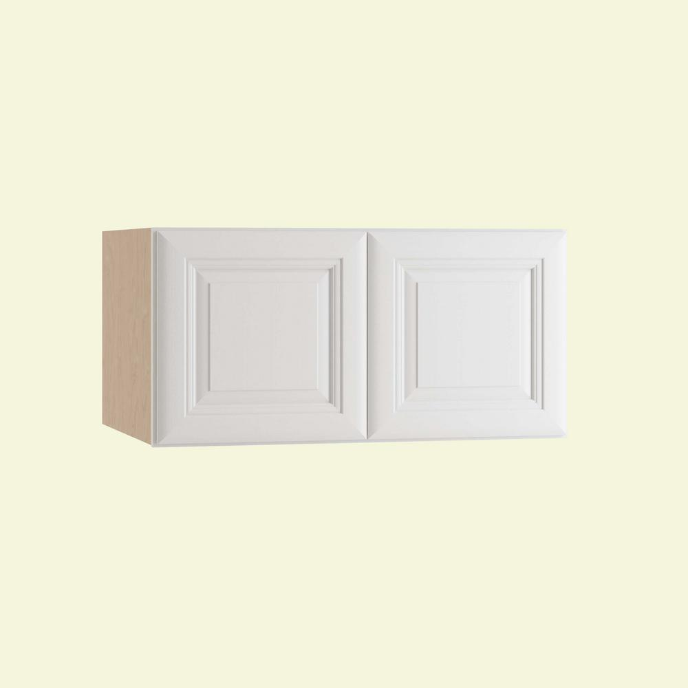 Brookfield Assembled 36x15x24 in. Double Door Wall Kitchen Cabinet in Pacific