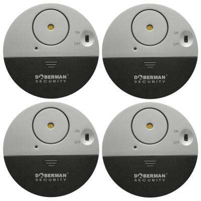 Ultra-Slim Door Window Alarm (4-Pack)