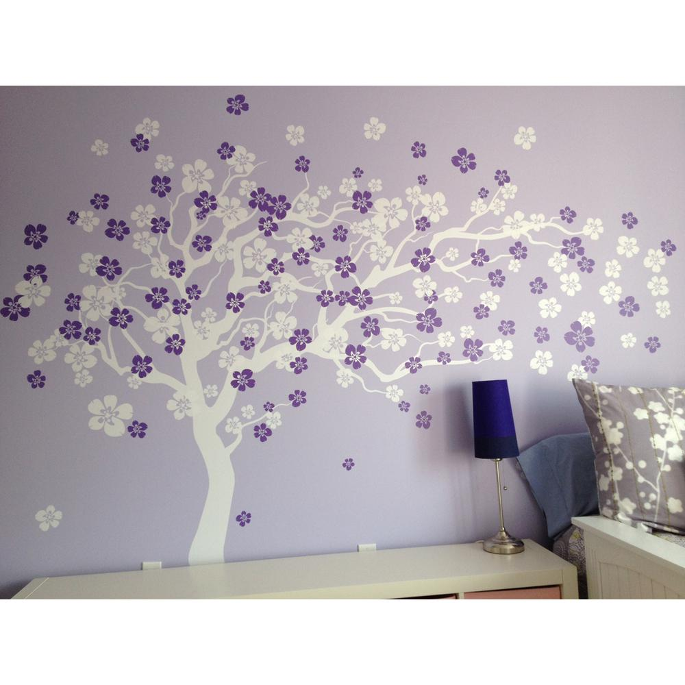 Cherry Blossom Tree Removable Wall Decal