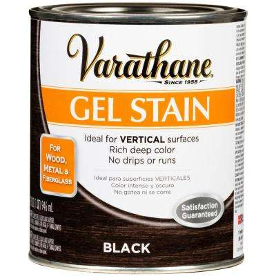 1-qt. Black Wood Interior Gel Stain (2 Pack)