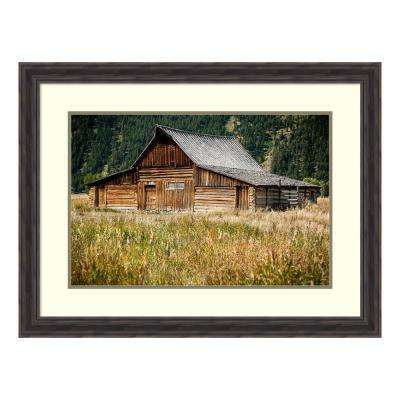 """Teton Barn"" by Tim Oldford Framed Wall Art"