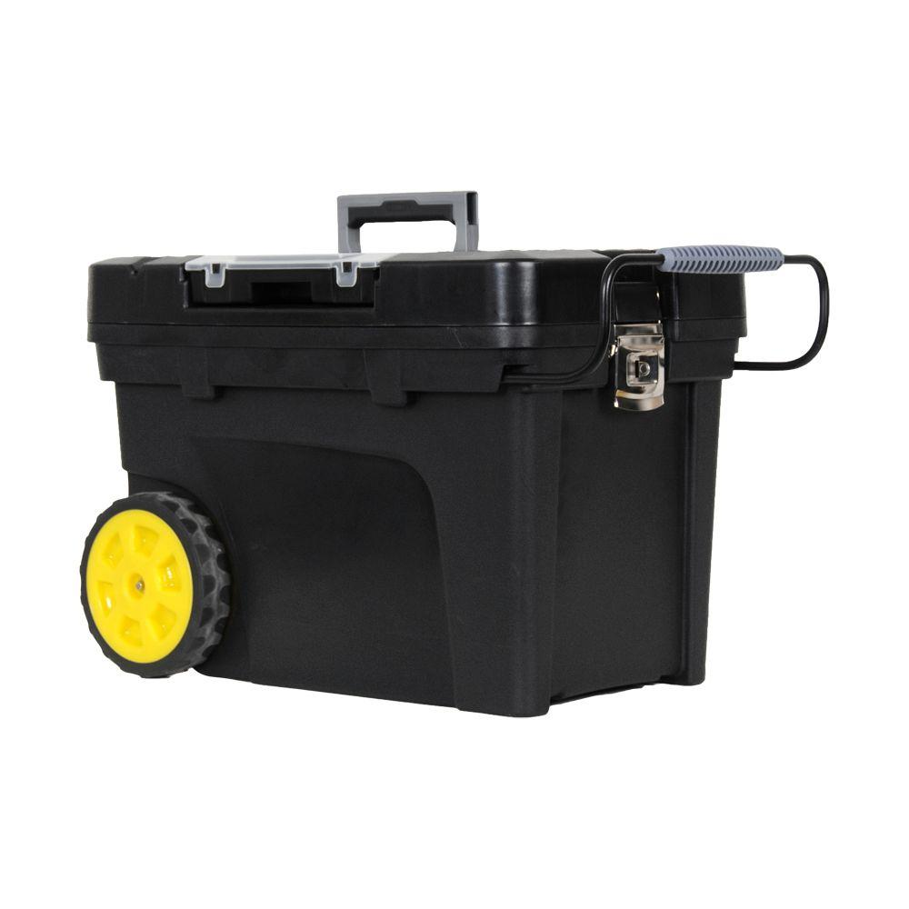 Stanley 24 in. 17 Gal. Mobile Tool Box