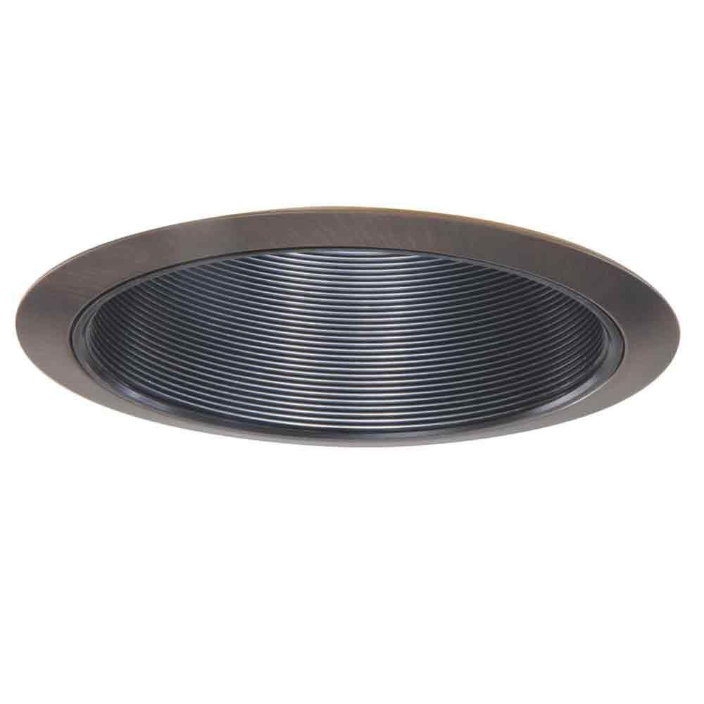 Halo 310 Series 6 In Tuscan Bronze Recessed Ceiling Light Black Coilex Baffle And Trim