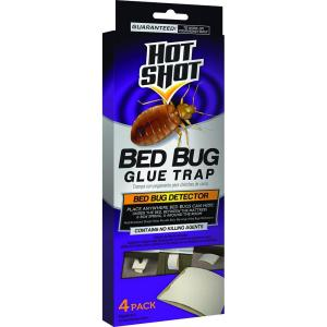 Hot Shot Bed Bug Glue Trap (4-Count) by Hot Shot