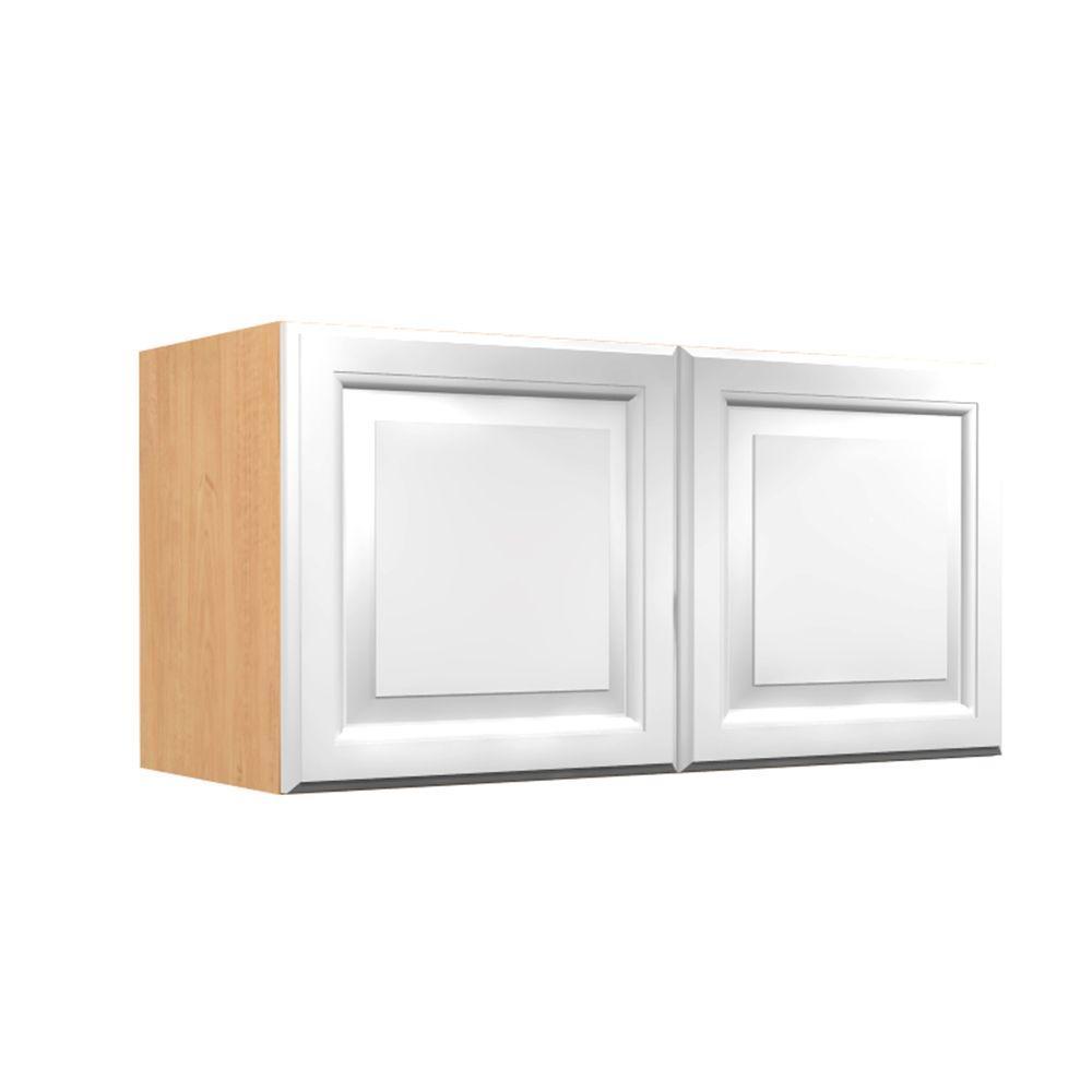 White Thermofoil - Kitchen Cabinets - Kitchen - The Home Depot