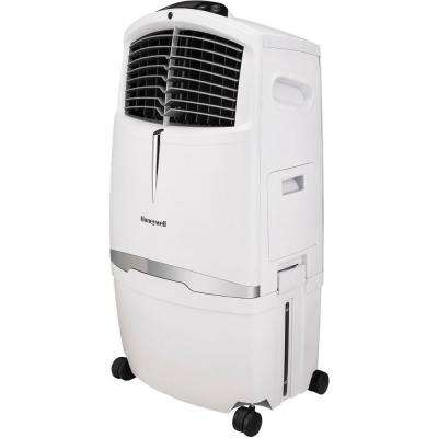 525 CFM 3-Speed Indoor Portable Evaporative Air Cooler with Remote Control for 320 sq. ft. in White