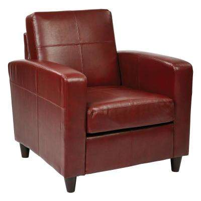 Venus Crimson Club Chair