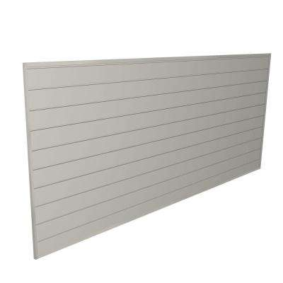 32 sq. ft. Sandstone Heavy Duty Slat Wall Panel Kit