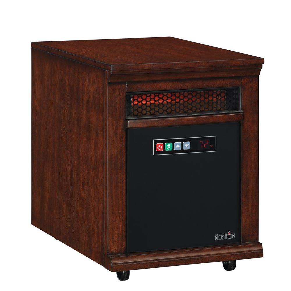 Twin Star 1500-Watt Infrared Quartz Portable Heater - Cherry