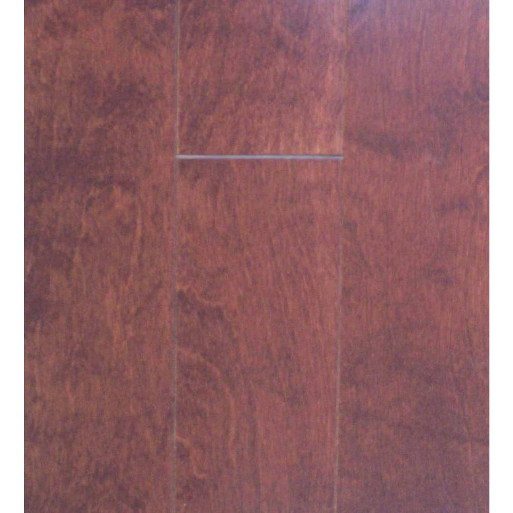 Millstead Birch Cognac 3/8 in. Thick x 4-1/4 in. Wide x Random Length Engineered Click Hardwood Flooring (20 sq. ft. / case)