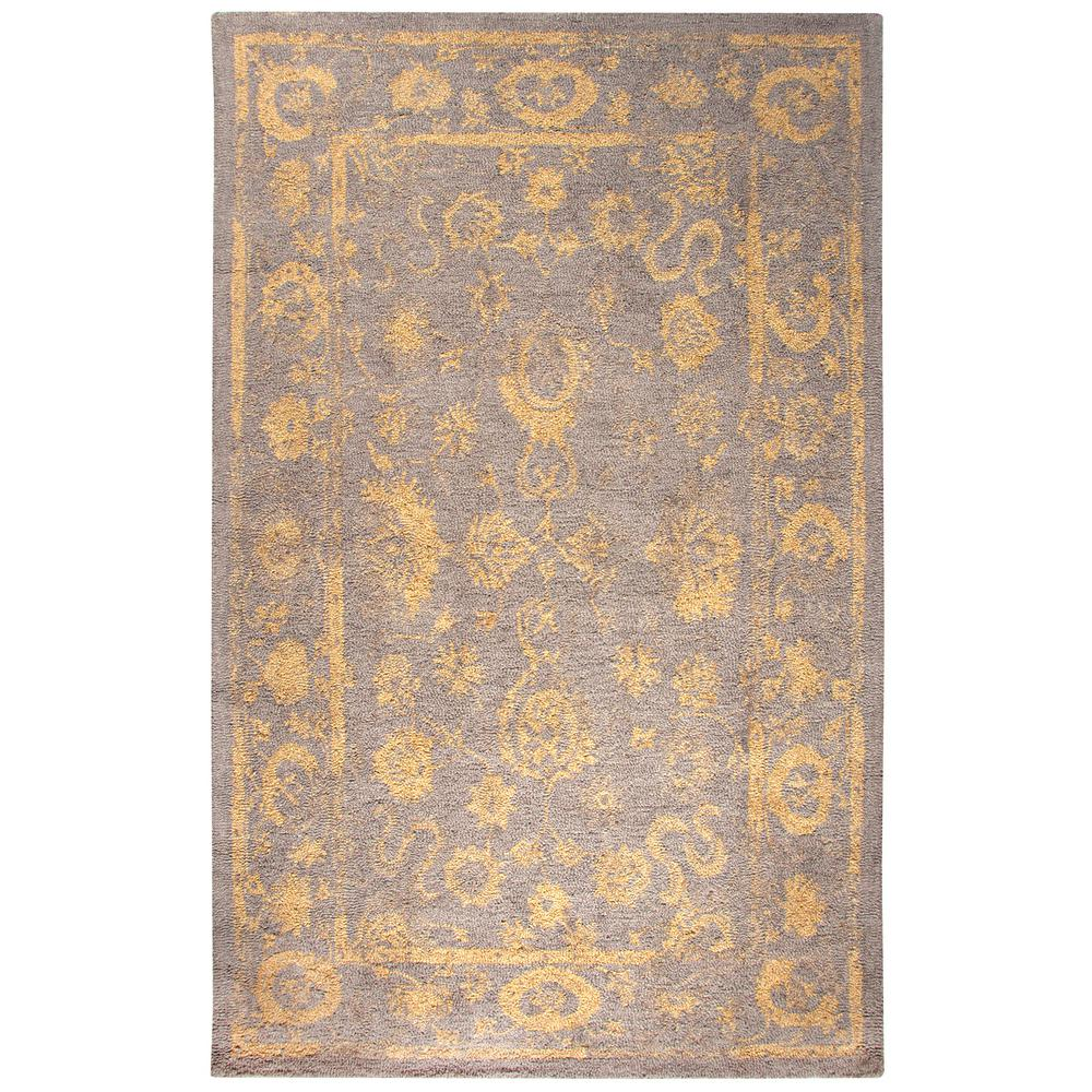 Avalon Brown Gold 9 Ft X 13 Indoor Area Rug