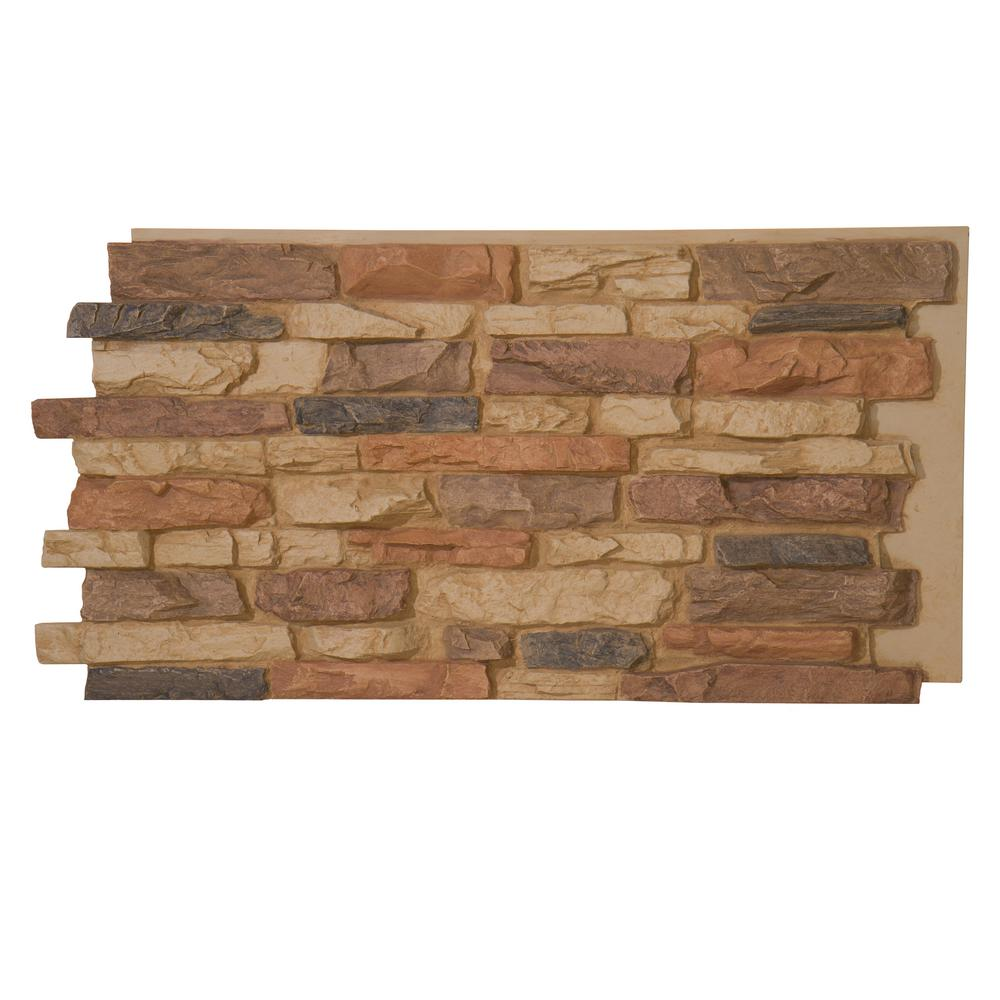 Stone Building Materials : Superior building supplies denalia faux stone panel