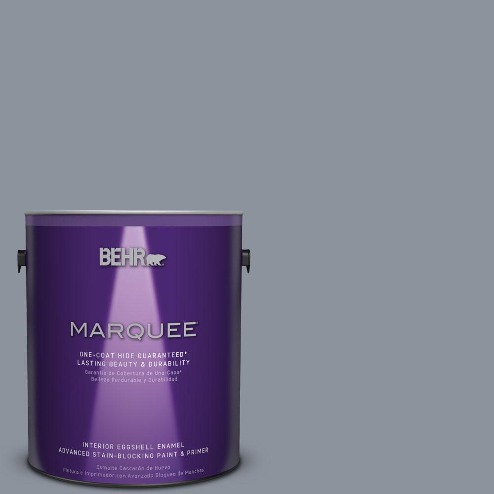 1 gal. #HDC-AC-26A Lilac Fields One-Coat Hide Eggshell Enamel Interior Paint